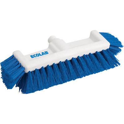 Ecolab 89990051 Floor Deck Scrub Brush Outdoor Hard Deep Bristle Cleaning tool  Bristle Deck Brush
