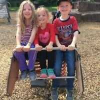 Sitter Wanted - Part time daily Babysitter or Nanny for 3 kids