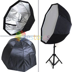 Professional 80cm Octagon Umbrella Flash Softbox soft box Reflector Speedlite