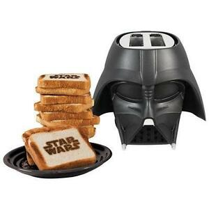 Star Wars Darth Vader Cool Wall Toaster - 2-Slice - Black-4 IN STOCK!
