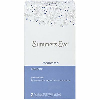 3 Pack - Summer's Eve Douche Medicated 2 Each