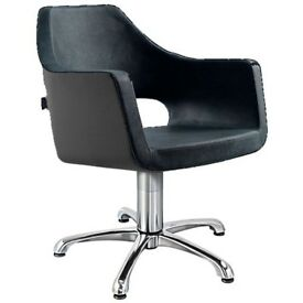 Boxed Classic Venice Black salon chairs for sale