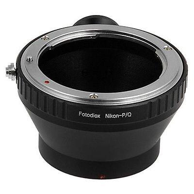 Fotodiox Objektivadapter Nikon F auf Pentax Q Kamera