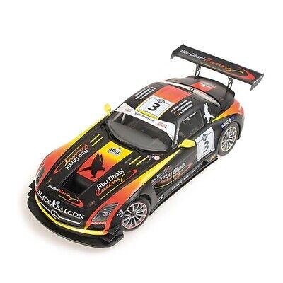 1:18 Mercedes SLS n°3 Abu Dhabi 2013 1/18 • MINICHAMPS 151133103 #