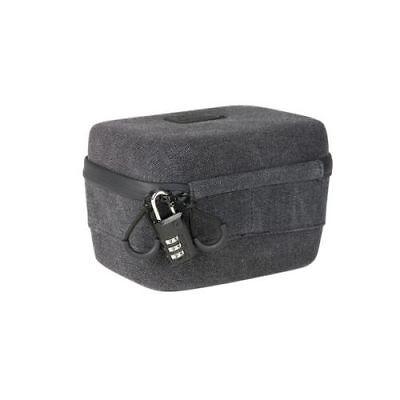 RYOT 2.3L Safe Hard Case with SmellSafe Smell Proof Technology - Black