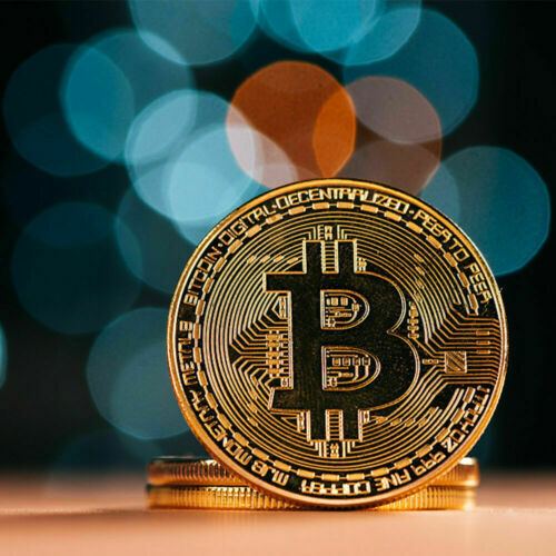 Best buy BITCOIN Gold Plated Physical Commemorative Collector Gift Issue Coin