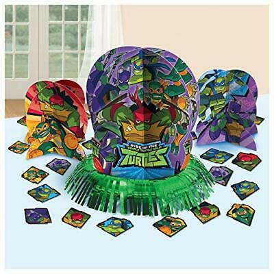 Ninja Turtle Table Decorations (Ninja Turtle Table Decorating Kit 23 Piece Centerpiece Party)