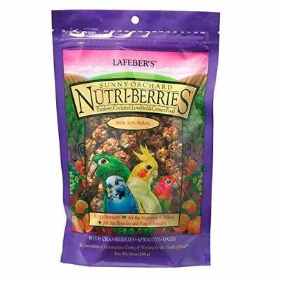 LAFEBER'S Sunny Orchard Nutri-Berries Pet Bird Food, Non-GMO/Human Grade Ingr.