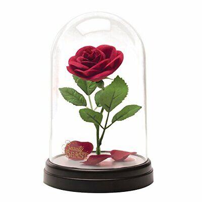 Disney La Bella y La Bestia Rosa Encantado Enchanted Rose Lámpara USB