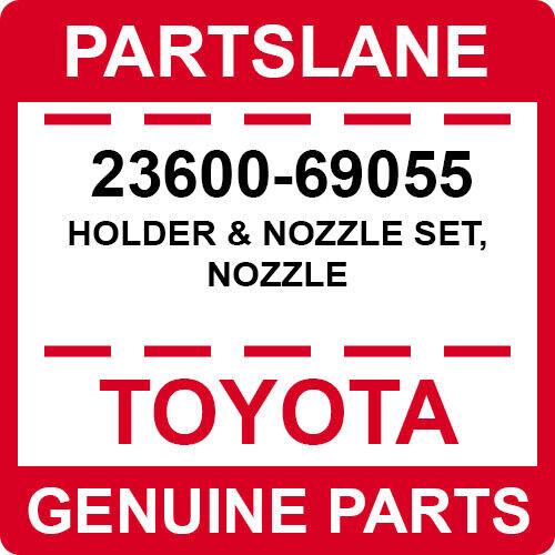 23600-69055 Toyota Oem Genuine Holder & Nozzle Set, Nozzle