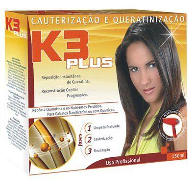 Hidran Kit Behandlung Keratin Brasilianische K3 Plus 150