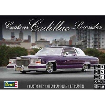 Revell Monogram 1980's Cadillac Custom Lowrider model kit 1/25