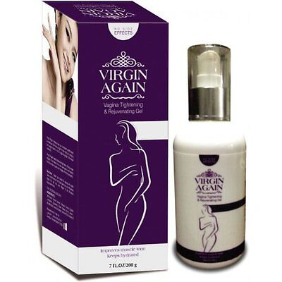 Used, Virgin Again Herbal Vaginal Tightening Gel Lotion Discreet Shipping 50 gm 2 Pcs for sale  New York