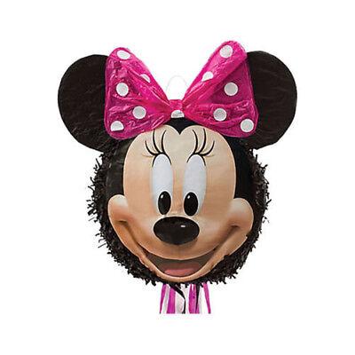 Amscan Minnie Mouse Pull Pinata - Minnie Mouse Pinatas