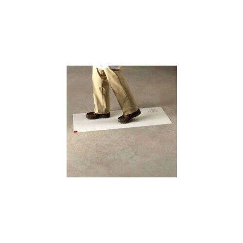 """3M 02120095742 66"""" White Clean Walk Mat NIB"""
