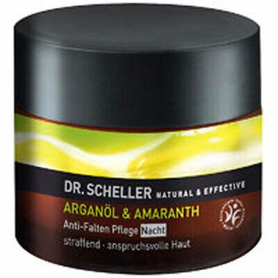Argán Aceite Y Amaranto Antiarrugas Noche Cuidado 50ml