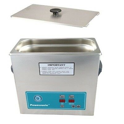 Crest Powersonic Ultrasonic Cleaner 1 Gallon Timer Heat P360h-45 Basket