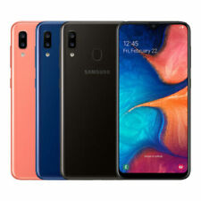 Samsung Galaxy A20 (SM-A205GN/DS) 6.4-Inch 3GB / 32GB LTE Dual SIM UNLOCKED