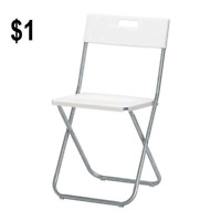 Chair and Table on Rent / Folding Chair and Table Rental in $1