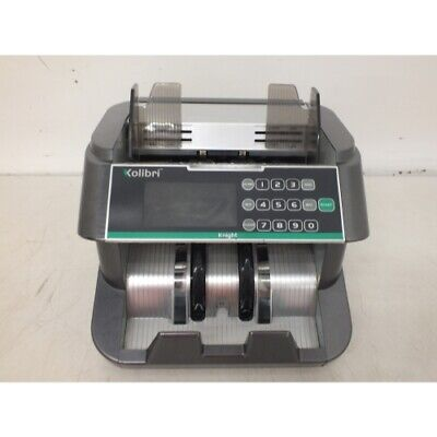 Kolibri Knight Money Counting Machine Bill Counter With Uvmg And Ir Top Load