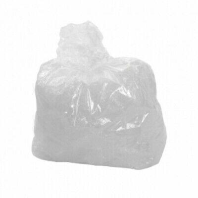 200 x Clear Transparent Compactor Sacks Refuse Rubbish Bags Binliners Bin Liners