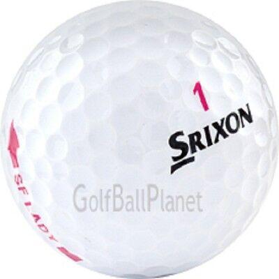 50 Srixon Soft Feel Lady Used Golf Balls AAA+ for sale  Delta