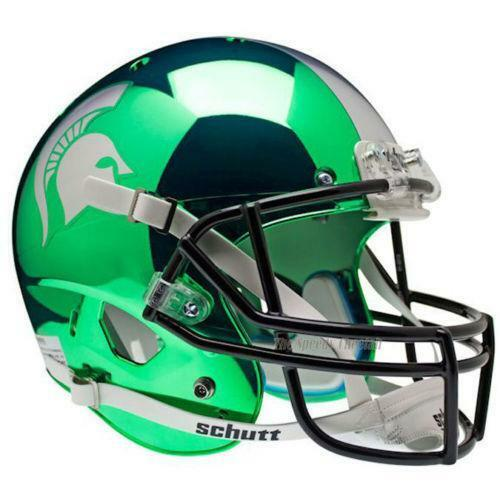 Football Helmet Chrome : Chrome football helmet ebay