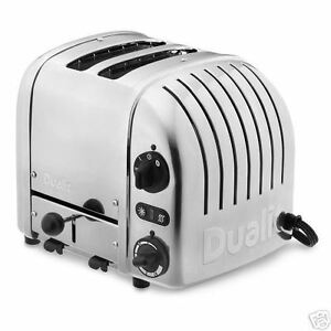 Dualit-2-slice-toaster-Williams-Sonoma-electronic-timer-version-29200-NEW
