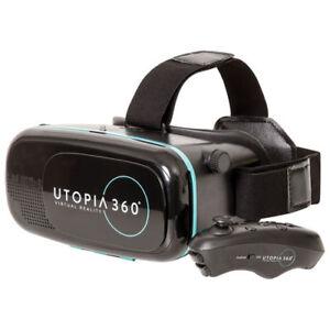 Utopia 360 VR Headset avec Manette Bluetooth NEUF!