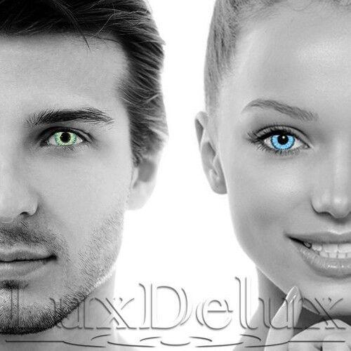 Farbige Kontaktlinsen in
