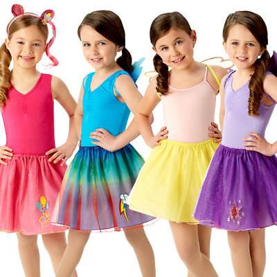 My Little Pony Tutu Set Girls Fancy Dress Cartoon Book Day Childrens Costume Kit ()