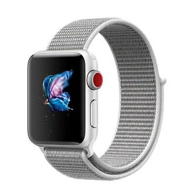 Nylon Sport Loop Band Replacement Band Edition Seashell Apple Watch Nike+ 38mm