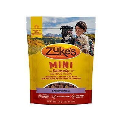 Zuke's Mini Naturals Training Dog Treats Rabbit Recipe - 6