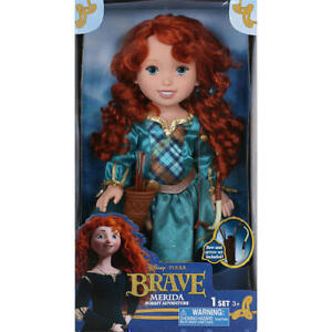 New Disney Princess Brave - Merida Doll - Forest Adventure Set