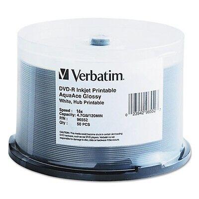 Verbatim Inkjet Printable DVD-R Discs - 96552