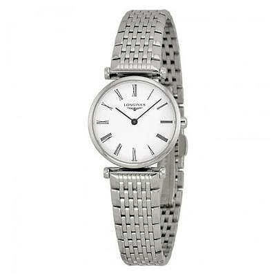 Longines La Grande Classique White Dial SS Quartz Ladies Watch L42094116