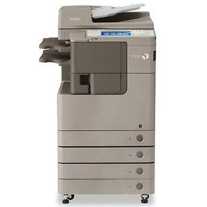 Canon IRA4235 Monochrome Printer Copier Scanner Only 800 Pages Printed Like New - Buy or Rent Copiers Printers
