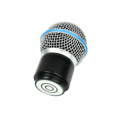 Wireless Microphone Capsule Head Replacement for System SM58 PGX2 SLX2