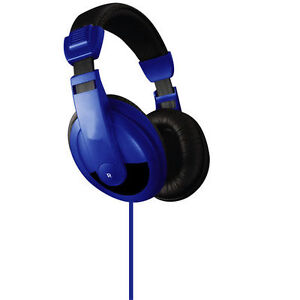 Vibe-Sound-DJ-750-Blue-Noise-Reduction-Stereo-Headphones-VS750DJ-VS750-DJ