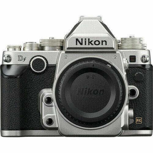Nikon 16.2 Megapixel Digital SLR Camera (Body Only) Silver Df