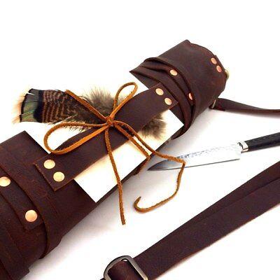 Сумки, ремни Leather Knife Roll /