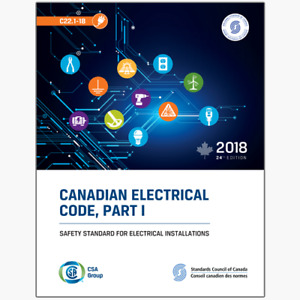 CSA Canadian Electrical Code Book 2018 24th edition (PDF)