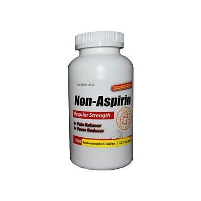 1000 ACETAMINOPHEN  ( TYLENOL ) TABLETS 325mg, PAIN RELIEVER