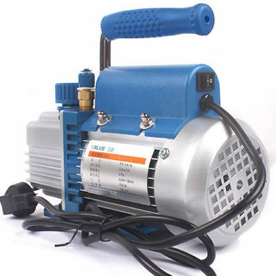 Vacuum Pump Rotary Vane Hvac Ac Air Tool 150w 220v For Film Laminating Machine