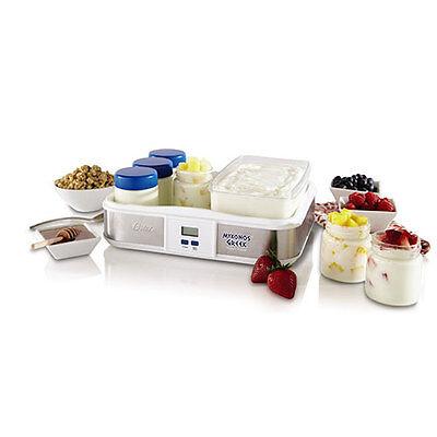 Oster CKSTYM1012 Mykonos Greek Digital Yogurt Maker 6 Jar 2-Quart