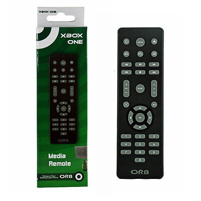 NEW GENUINE OFFICIAL ORB MEDIA REMOTE CONTROL FOR XBOX ONE IN BLACK - 020922