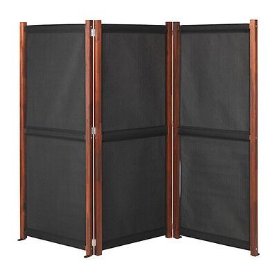 USEFUL IKEA SLÄTTÖ Privacy screen, outdoor, black, brown stained 211x170 cm ()