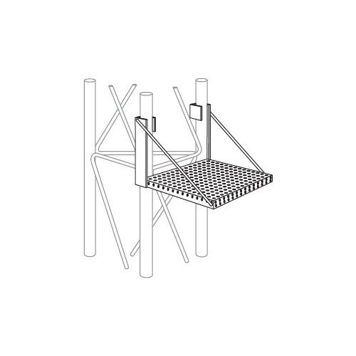 ROHN WP45G Work Platform Snap On Step Attachment for ROHN 45G Tower. Buy it now for 209.98