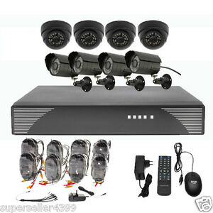 8-Channel-Security-CCTV-DVR-System-with-4x-Indoor-Outdoor-Camera-Kit-500GB-HDD