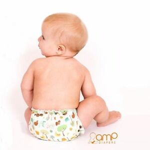 Super fashionable AMP Cloth Diaper Hemp Kit! Kitchener / Waterloo Kitchener Area image 1
